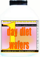 1 day diet wafers one day diet wafers food tabs jeunique crystal chews